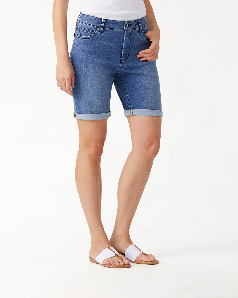 Isla Indigo IslandZone® 9.5-Inch Bermuda Shorts
