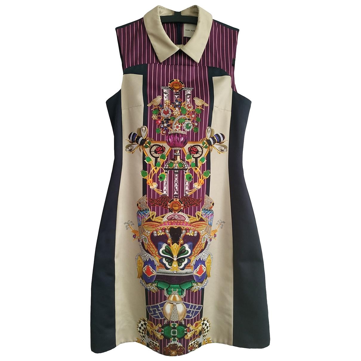 Mary Katrantzou \N Kleid in  Bunt Baumwolle