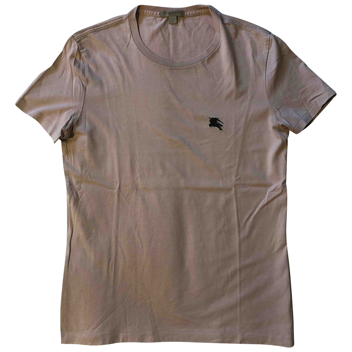 Burberry \N T-Shirts in  Rosa Baumwolle