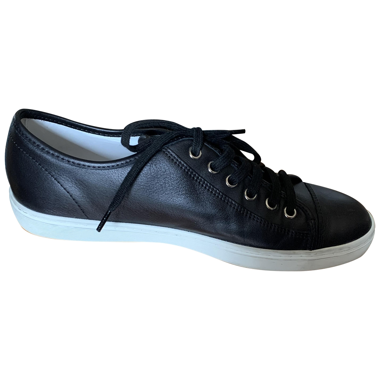 Tod's \N Black Leather Trainers for Women 40 IT