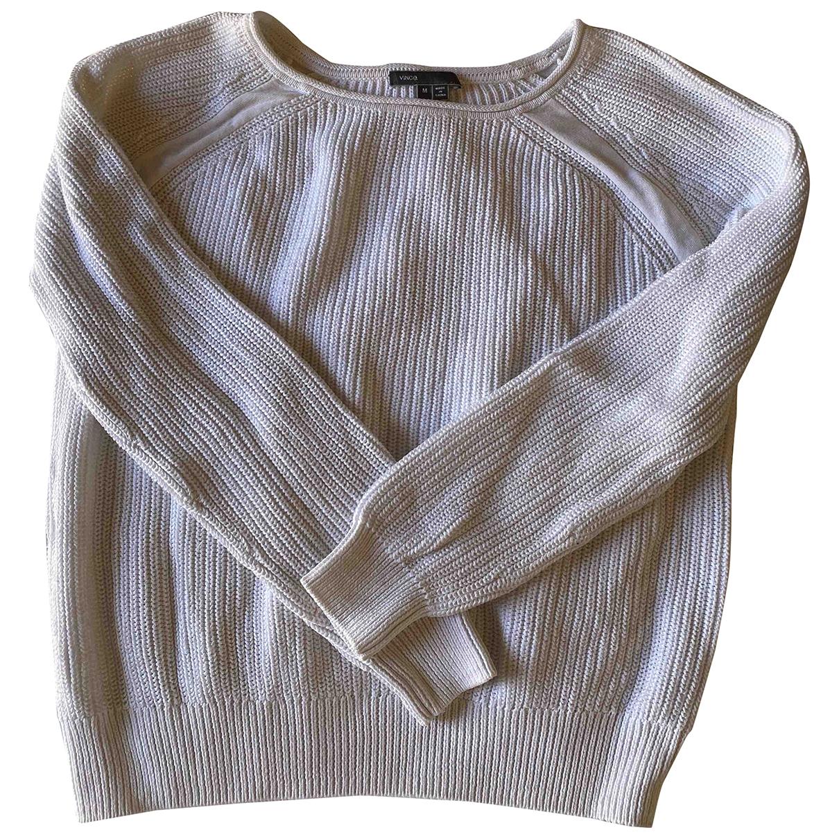 Vince \N White Cotton Knitwear for Women M International