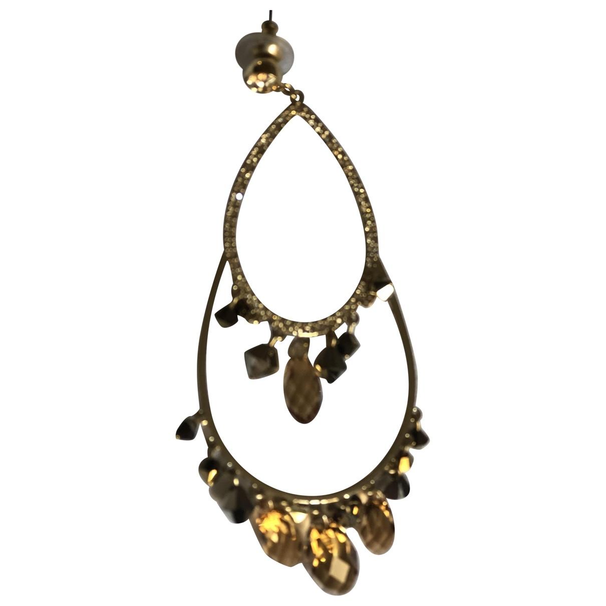 Swarovski \N Steel Earrings for Women \N
