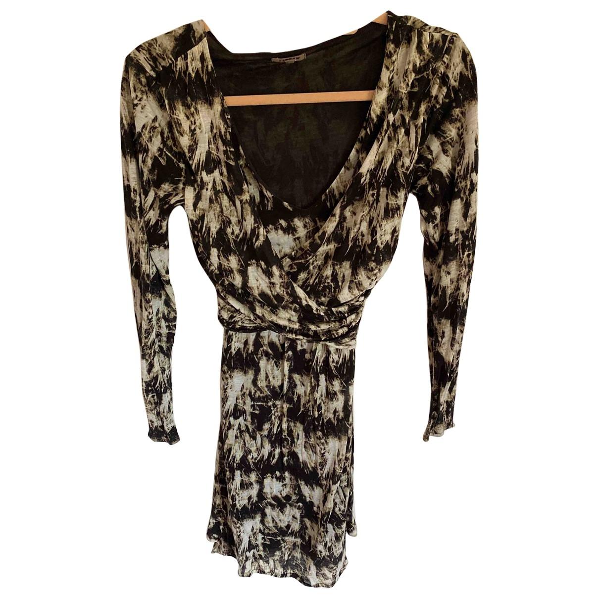 Jigsaw \N Kleid in  Beige Synthetik