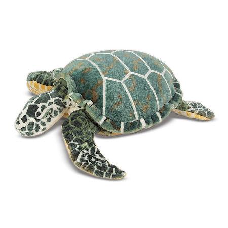 Melissa & Doug Sea Turtle Plush, One Size , Multiple Colors