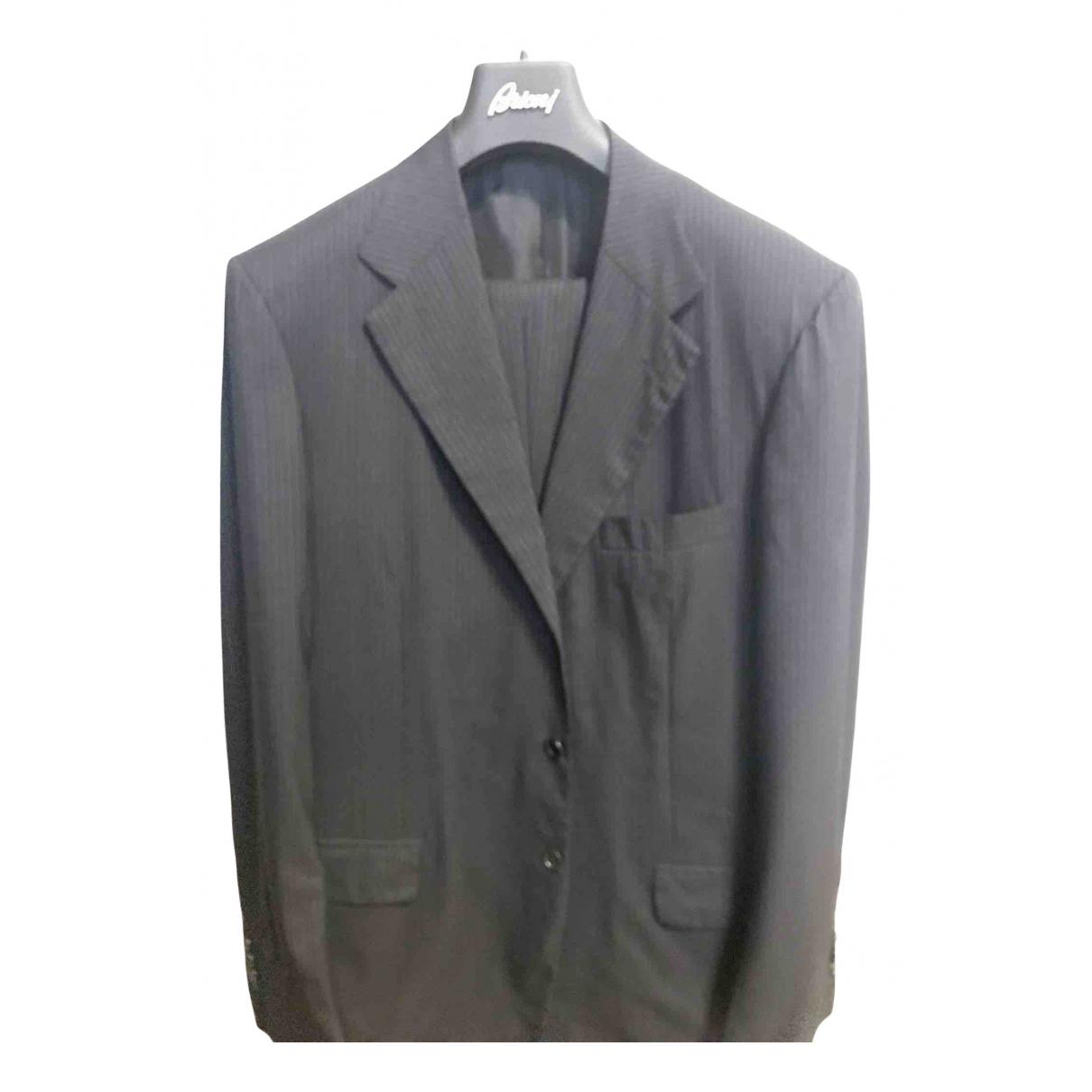 Brioni - Costumes   pour homme en laine - bleu