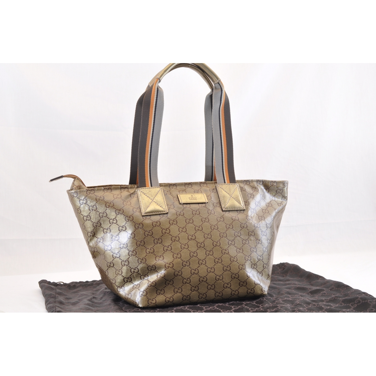 Gucci \N Gold Patent leather handbag for Women \N
