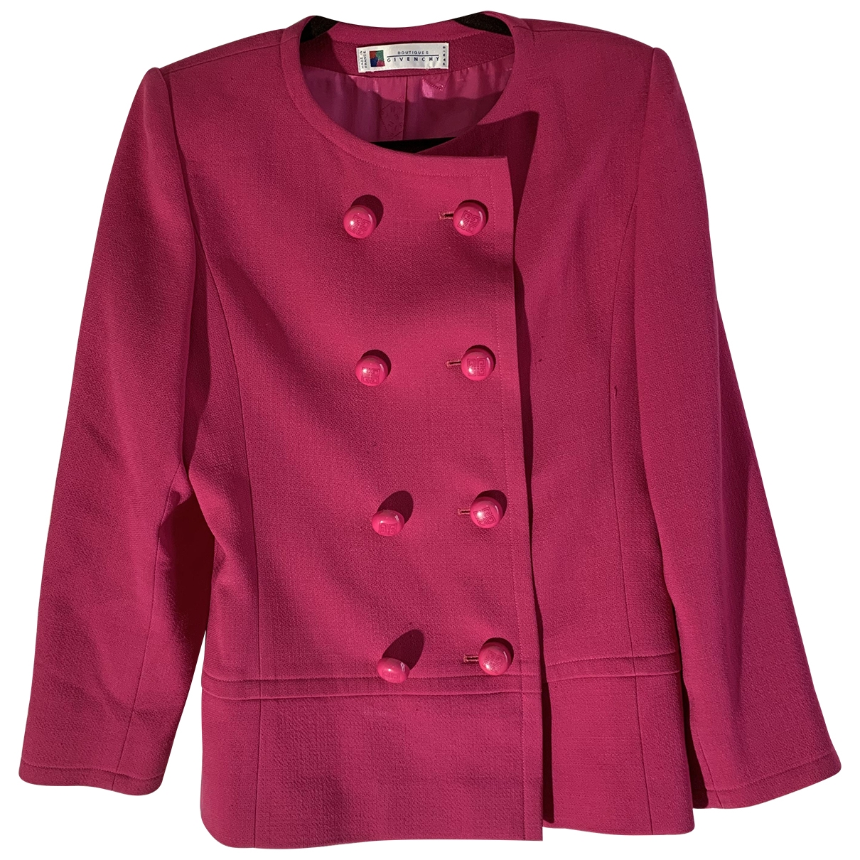 Givenchy \N Purple Wool jacket for Women 38 FR