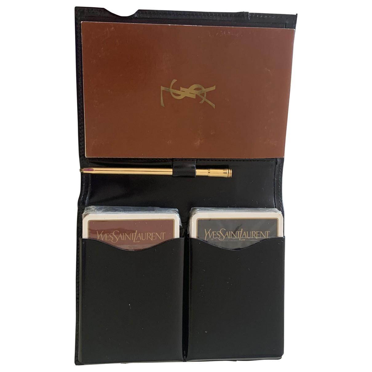 Yves Saint Laurent - Objets & Deco   pour lifestyle en cuir - multicolore