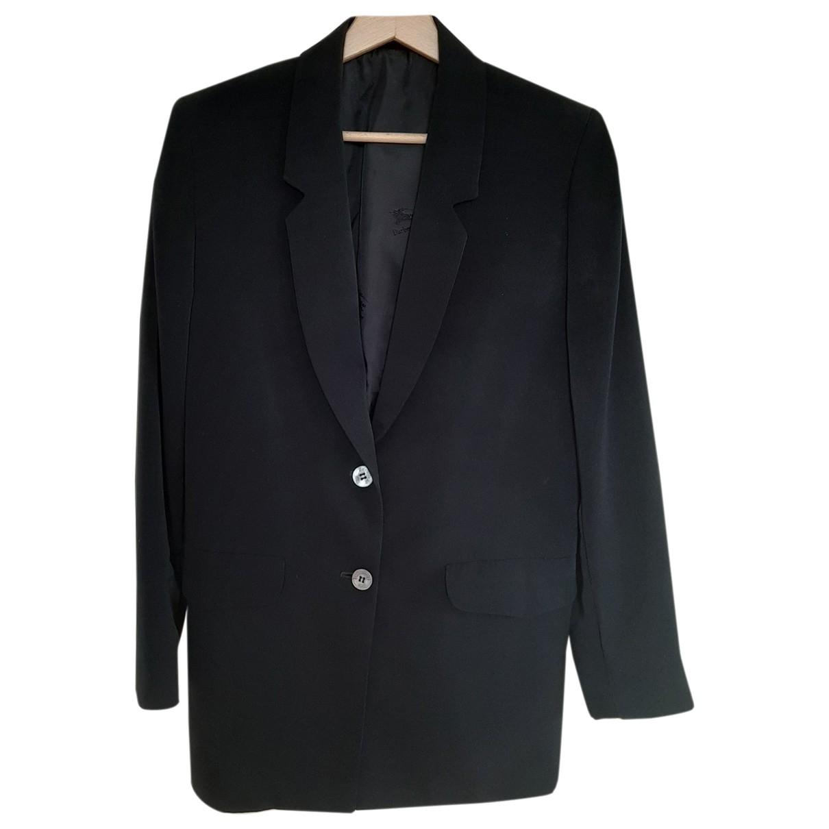 Burberry \N Black jacket for Women 40 FR