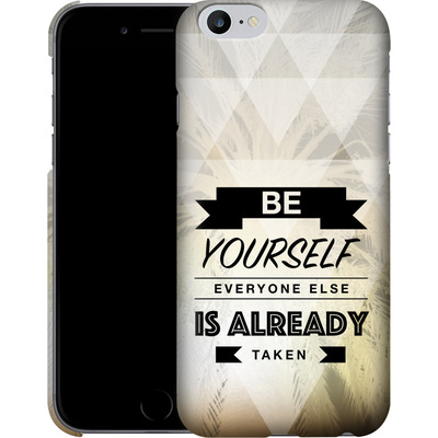 Apple iPhone 6 Plus Smartphone Huelle - Be Yourself von Statements