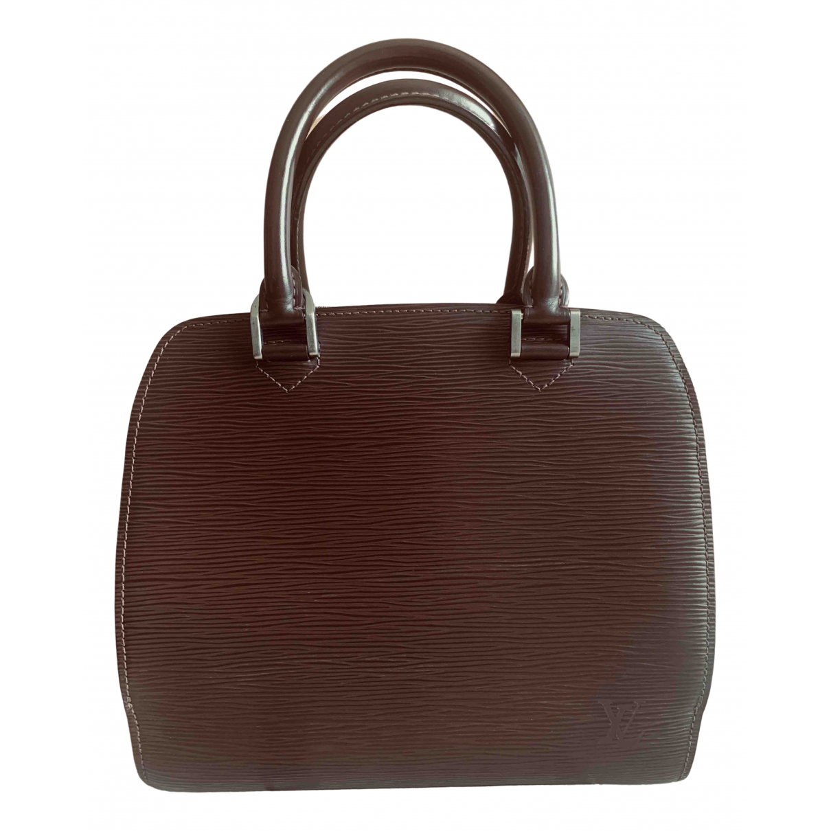 Louis Vuitton Pont Neuf Vintage  Brown Leather handbag for Women \N