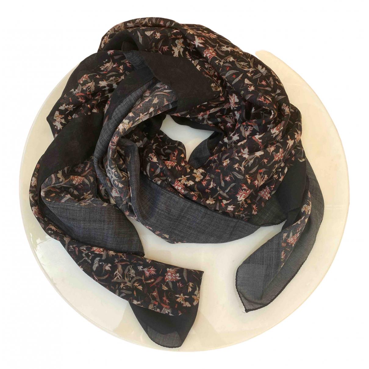 Iro \N Black Cotton scarf for Women \N
