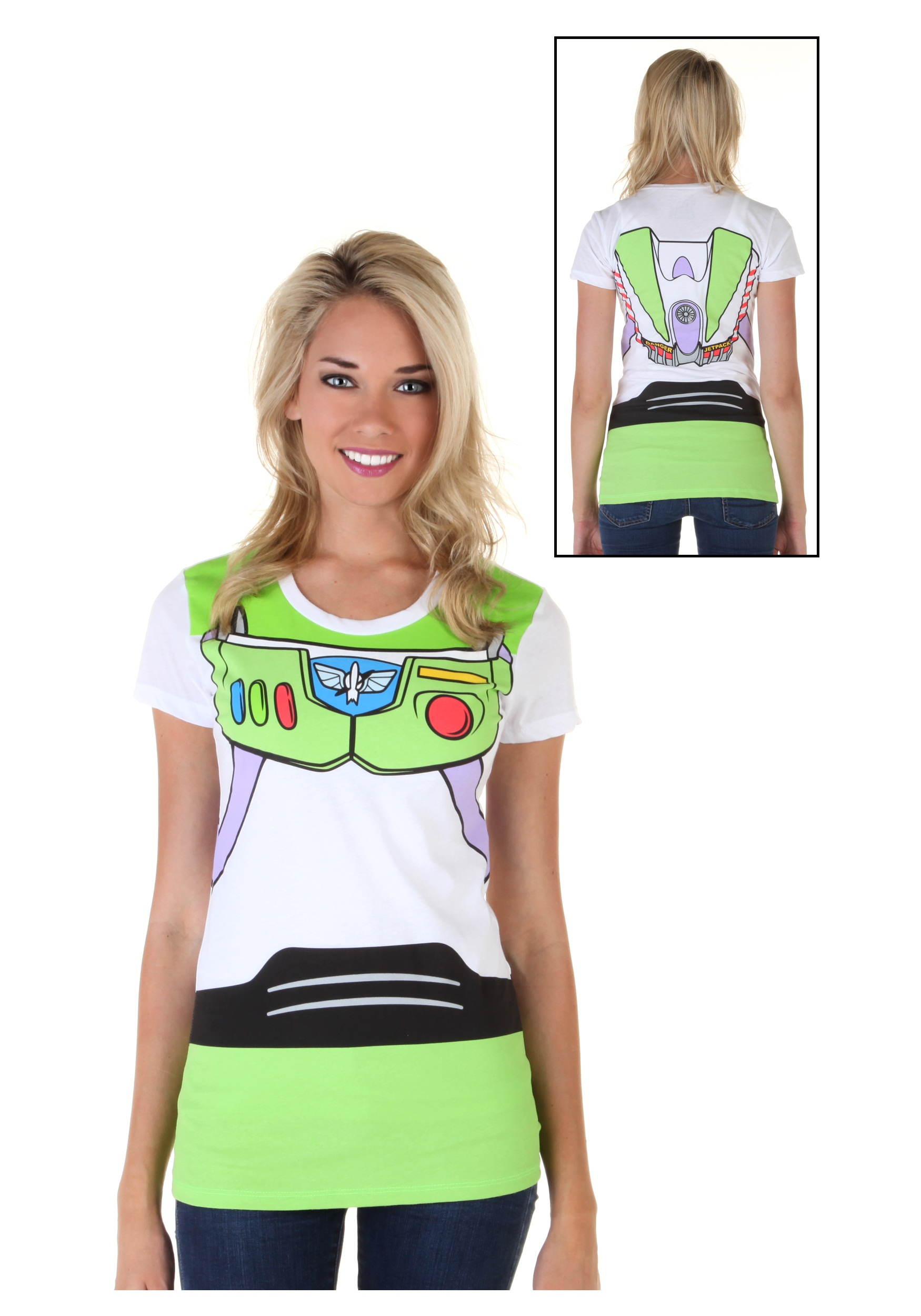 Toy Story I Am Buzz Costume Tee for Women