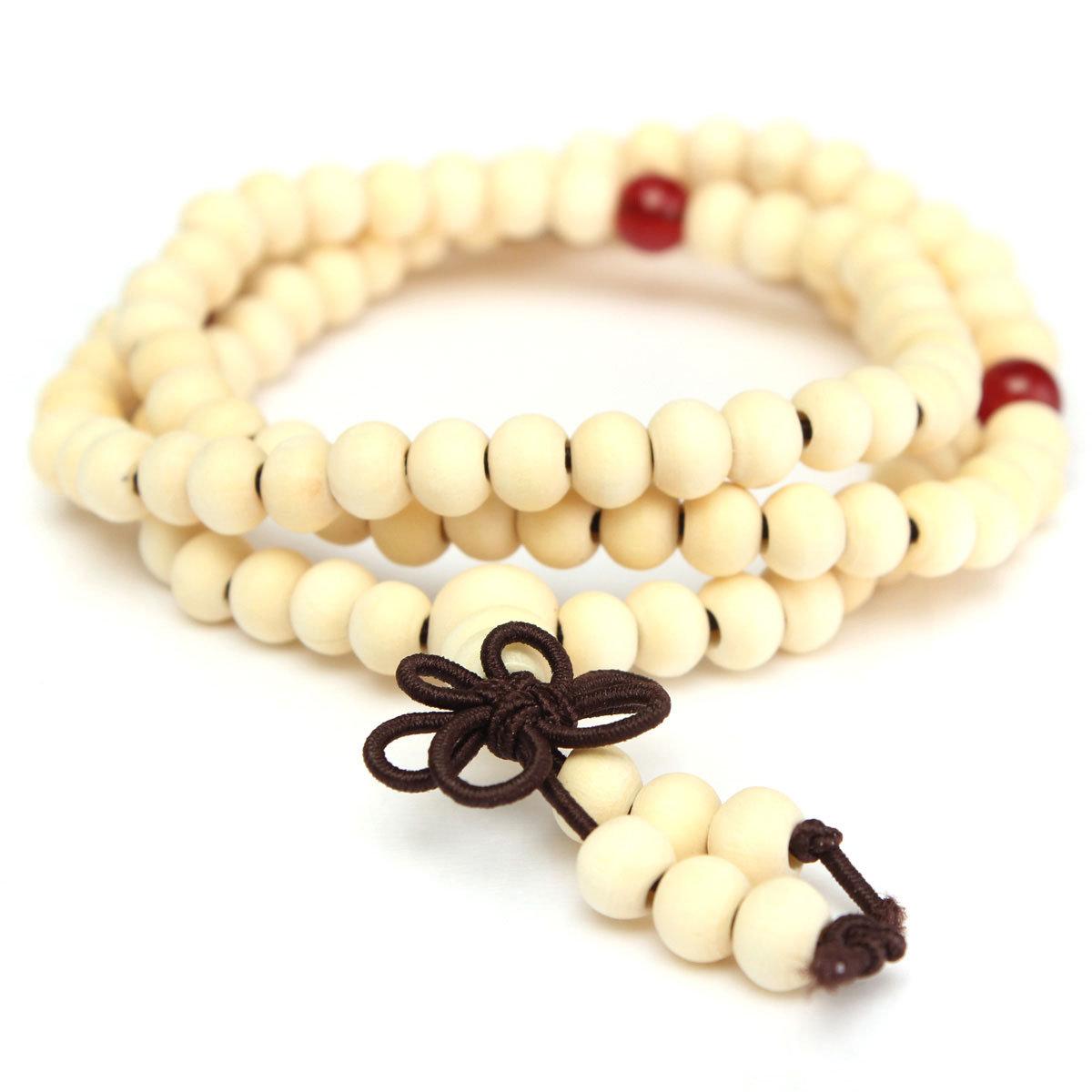 Buddhist Buddha Prayer Bead Mala Bracelet