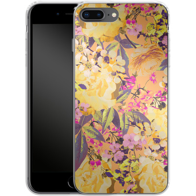Apple iPhone 8 Plus Silikon Handyhuelle - Symmetric Spring von Zala Farah