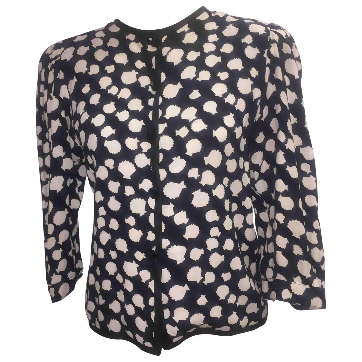 Yves Saint Laurent \N Black Silk Knitwear for Women XXS International