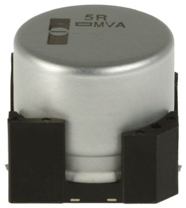Nippon Chemi-Con 47μF Electrolytic Capacitor 16V dc, Surface Mount - EMVA160ADA470ME55G (25)