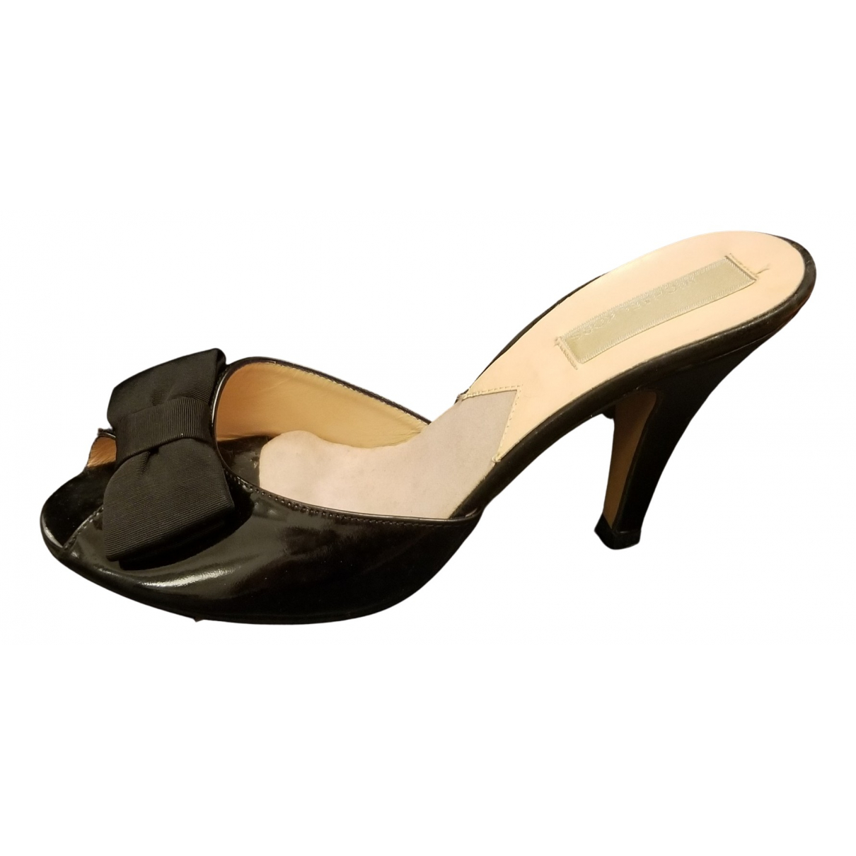 Michael Kors \N Black Patent leather Heels for Women 37.5 EU