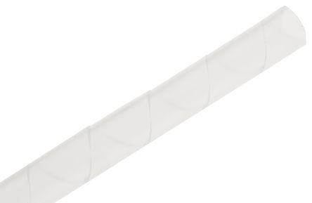 Richco Spiral Wrap, I.D 10.5mm 84.5mm polyethylene (PE), Natural