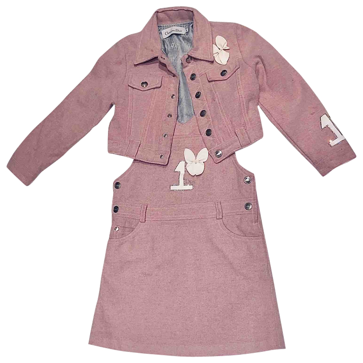 Dior \N Pink Wool Outfits for Kids 6 years - up to 114cm FR