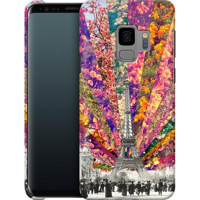 Samsung Galaxy S9 Smartphone Huelle - Vintage Paris von Bianca Green