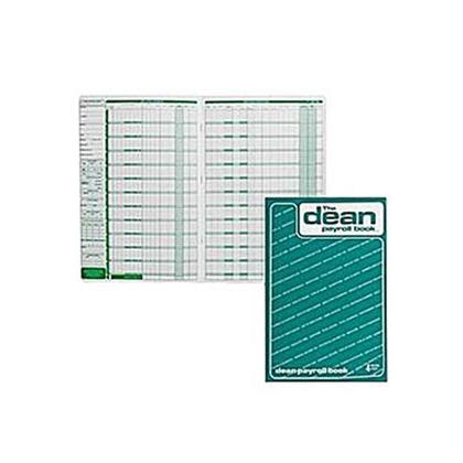 Dean & Fils Dean et Lefebvre Livre de paye Concu - English,4 employees