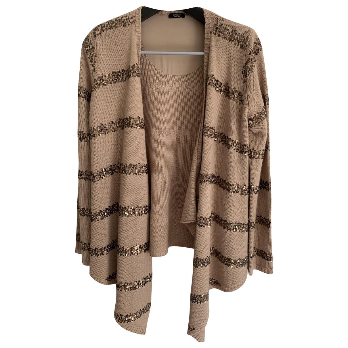 Basler \N Camel Wool Knitwear for Women 12 UK