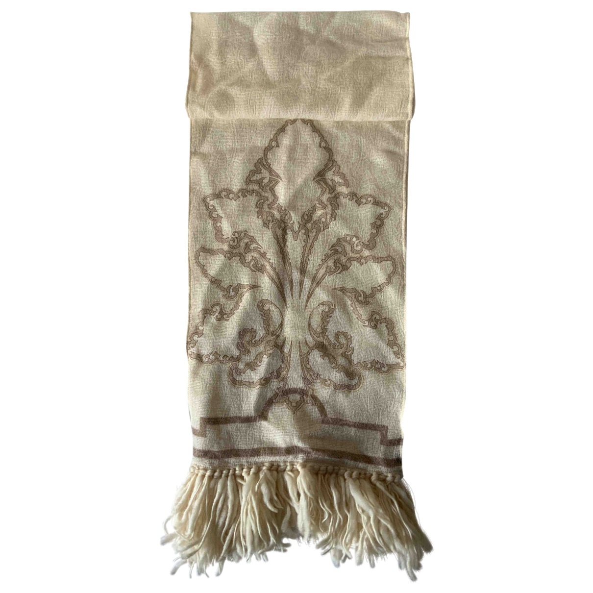 Gianfranco Ferré \N Ecru Wool scarf for Women \N