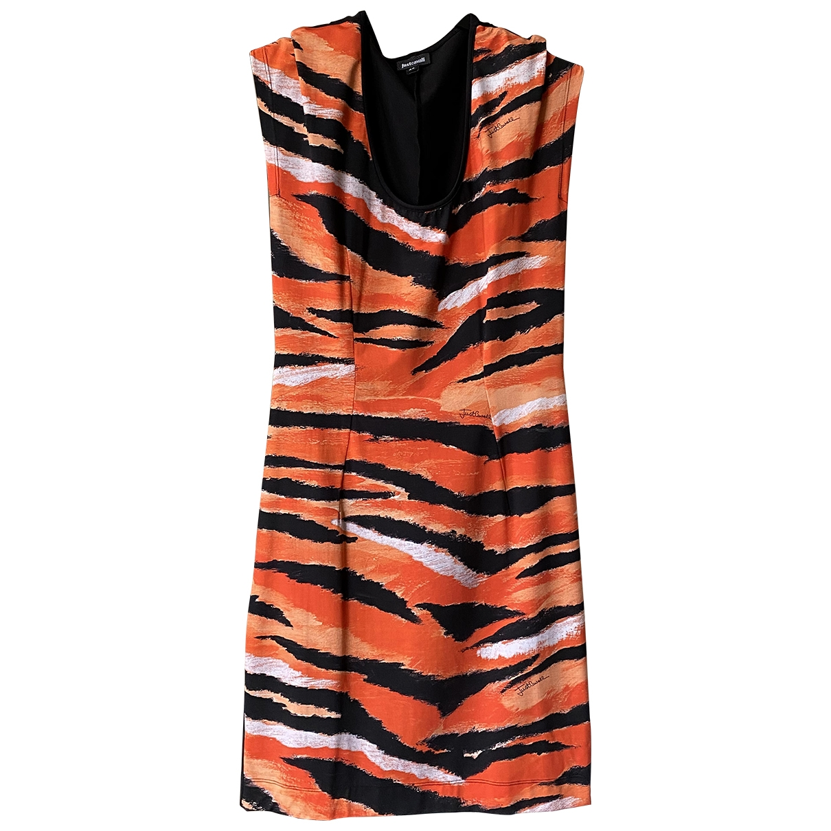 Just Cavalli \N Orange dress for Women 44 IT