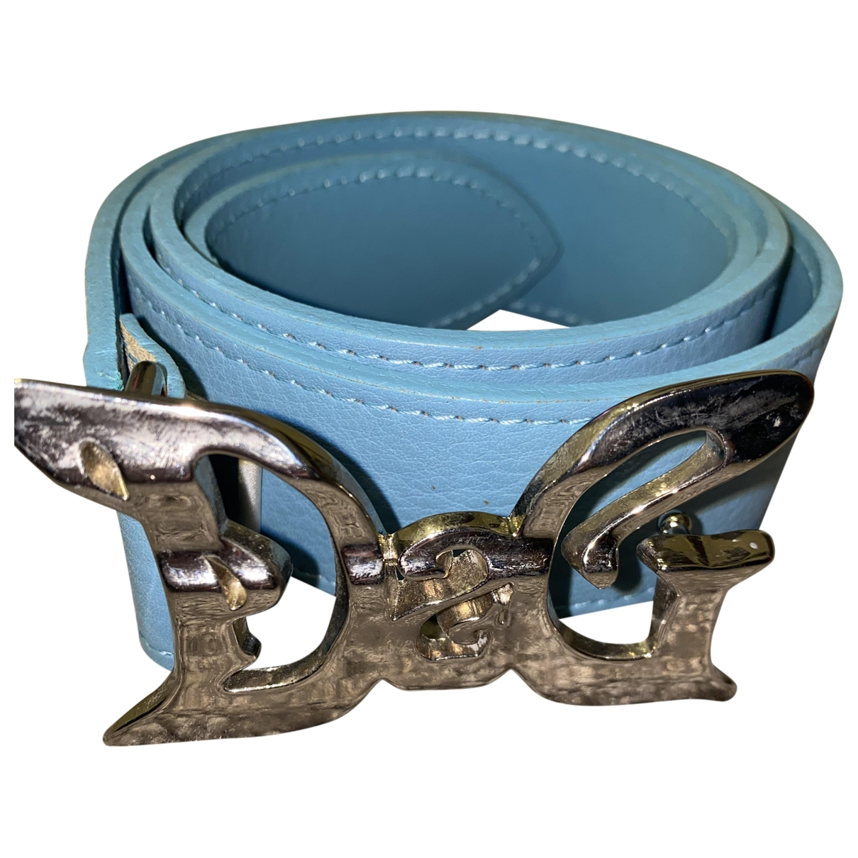 Dolce & Gabbana \N Blue Leather belt for Women 37 Inches