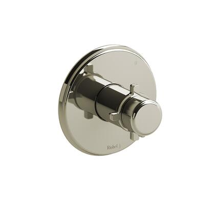Momenti MMRD45+PN 3-Way Thermostatic/Pressure Balance Coaxial Complete Valve with Cross Handles  in Polished