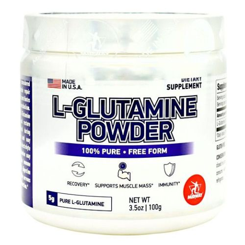 FDM Glamour L-Glutamine 100 Grams by Midway Labs