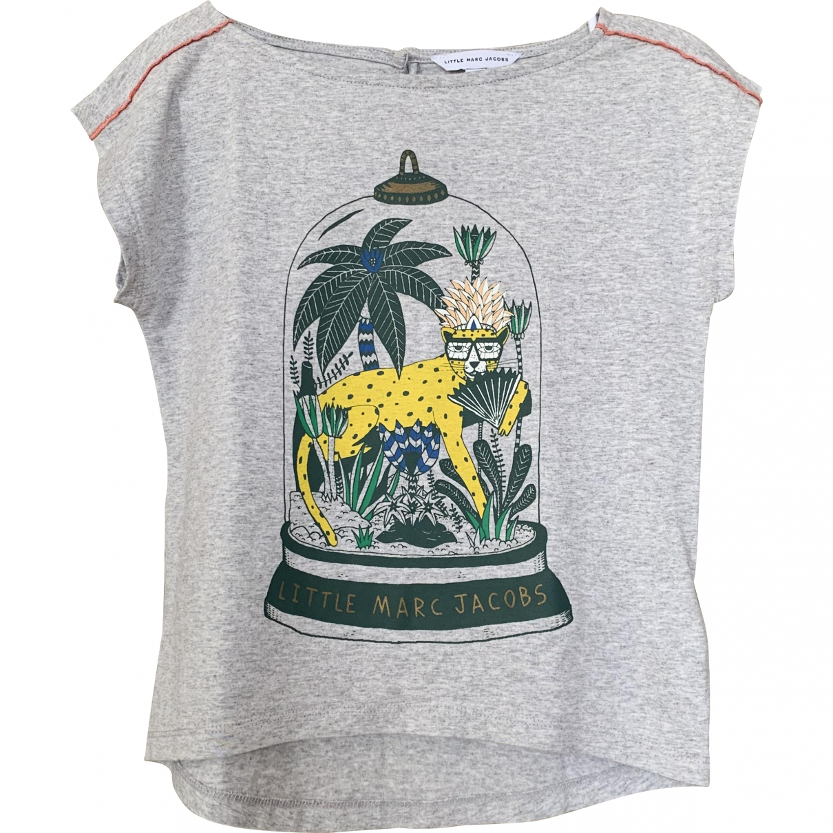 Little Marc Jacobs \N Grey Cotton  top for Kids 6 years - up to 114cm FR