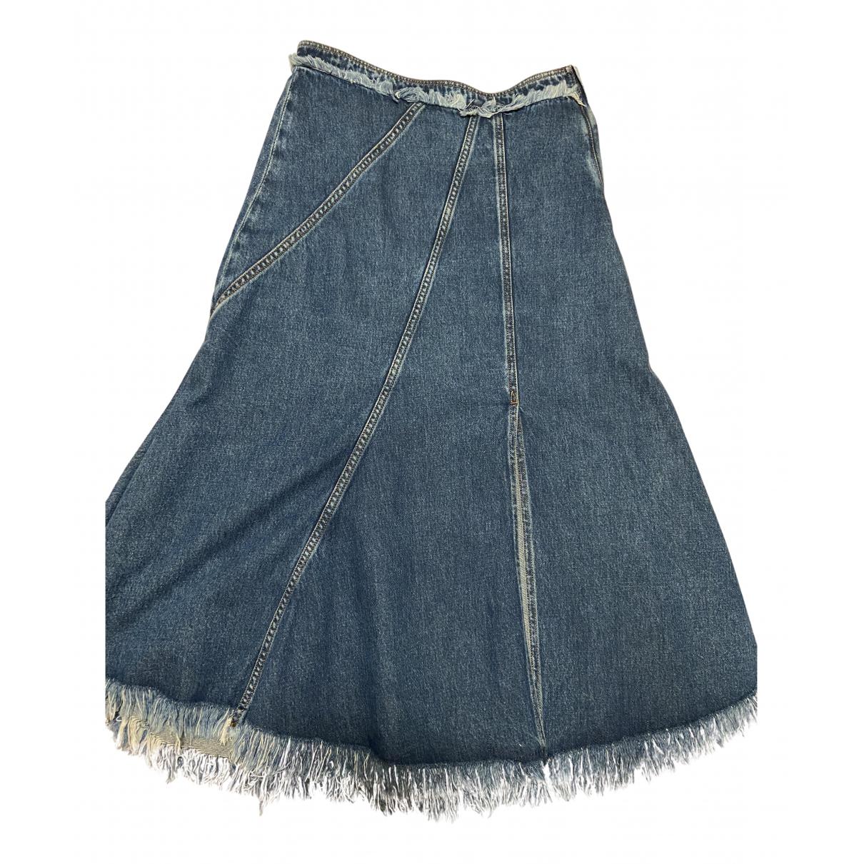 Sport Max \N Rocke in  Blau Denim - Jeans