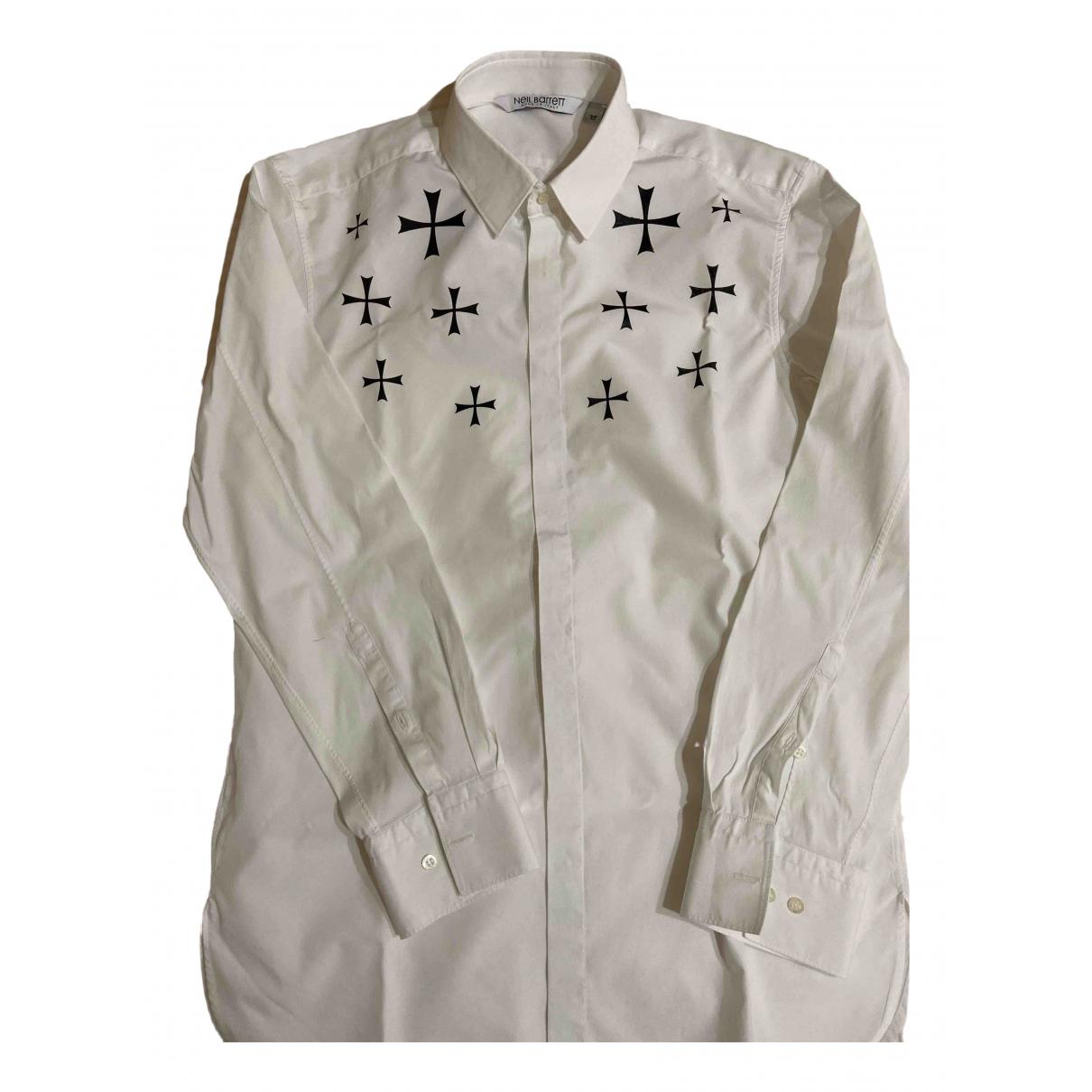 Neil Barrett \N Hemden in  Weiss Baumwolle