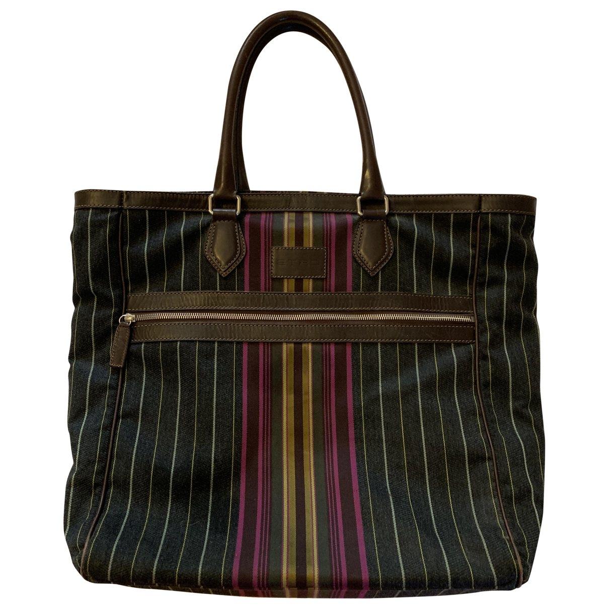Etro - Sac de voyage   pour femme en laine - multicolore