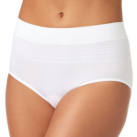 Warner's No Pinching. No Problems. Seamless Brief Panty RS1501P, Xx-large , White