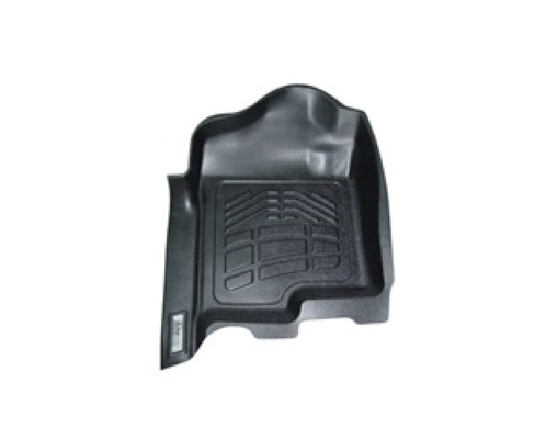 Westin Black Front Wade Sure Fit Floor Liners Ford F-150 Reg/SuperCab/SuperCrew w/ 1 Ret Hook 2009-2012