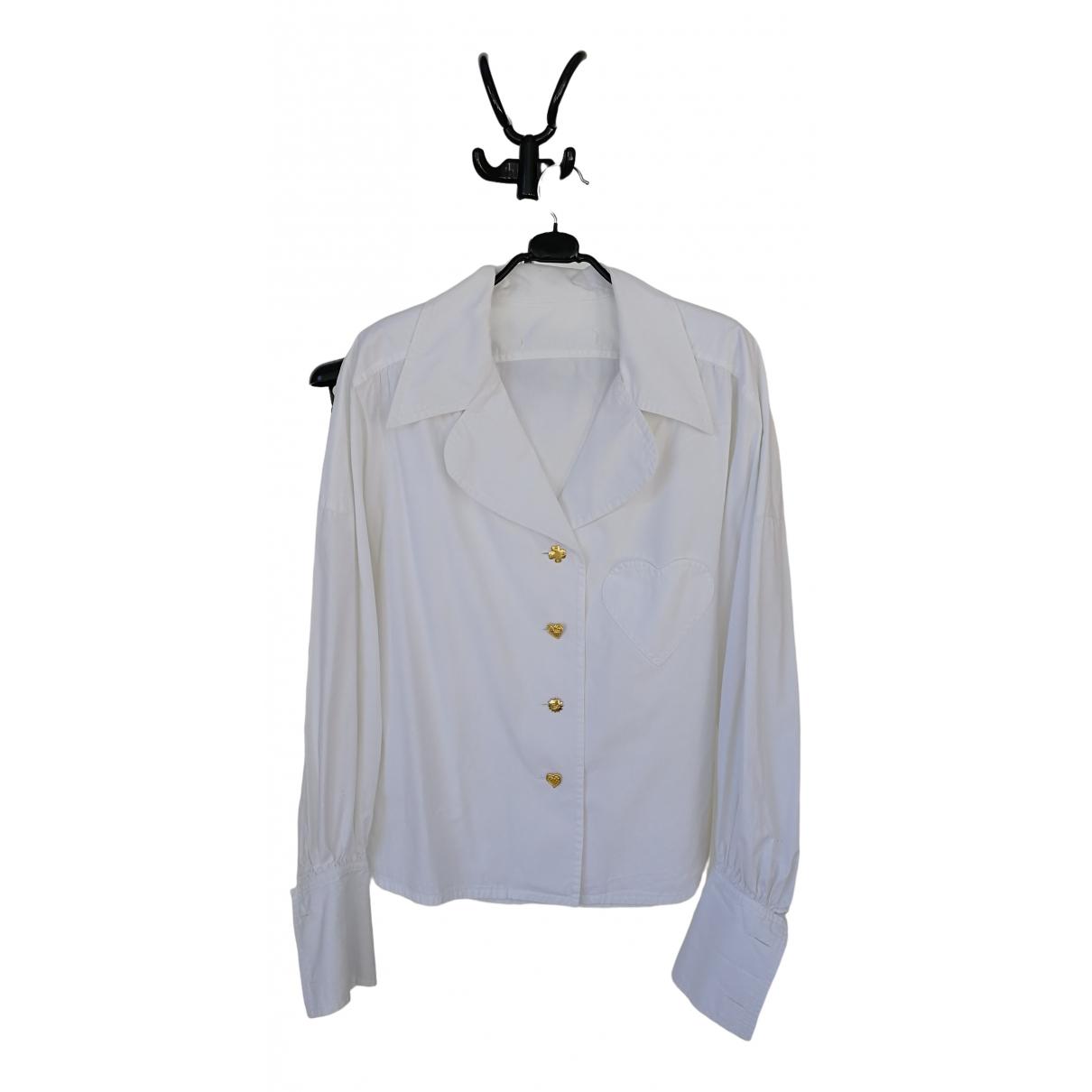 Christian Lacroix - Top   pour femme en coton - blanc
