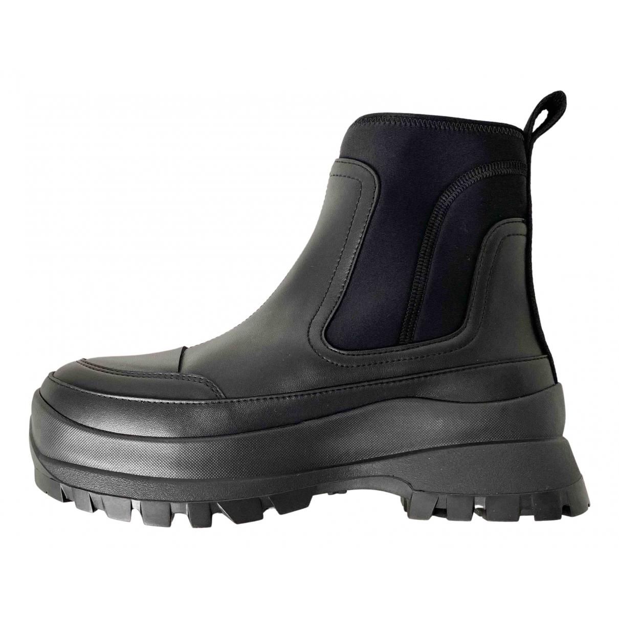 Stella Mccartney \N Black Rubber Ankle boots for Women 4 UK