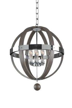 Sharlow 300483CH 6-Light Pendant in