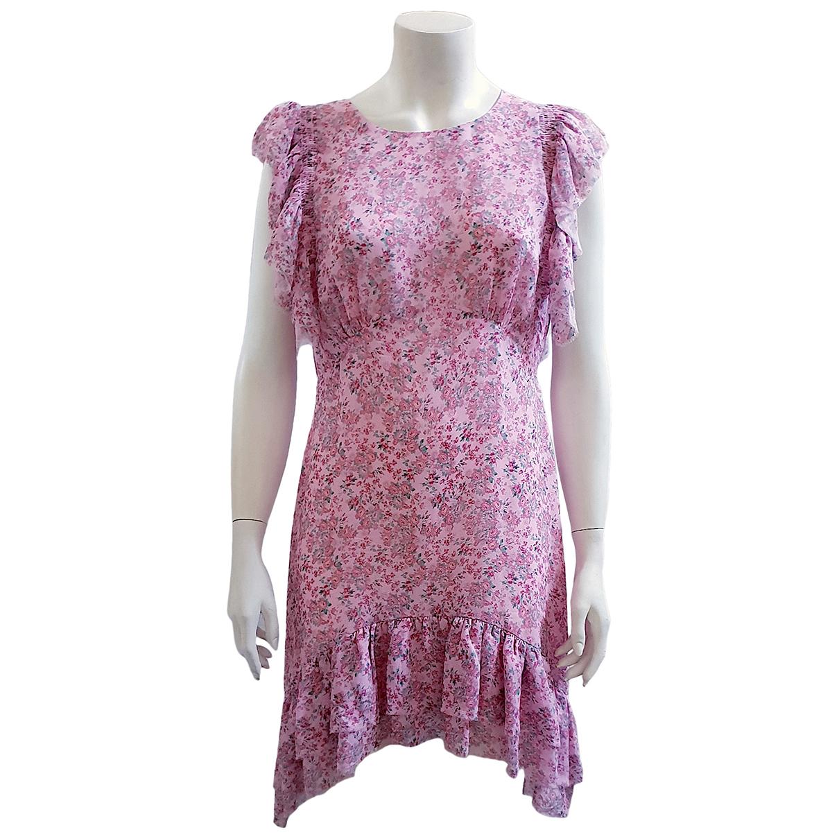 Love Shack Fancy \N Kleid in  Rosa Seide