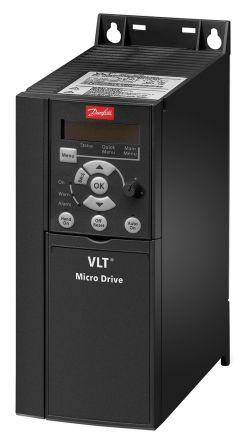 Danfoss Inverter Drive, 3-Phase In, 0 → 200 (VVC+ Mode) Hz, 0 → 400 (U/f Mode) Hz Out 3 kW, 400 V, 7.2 A