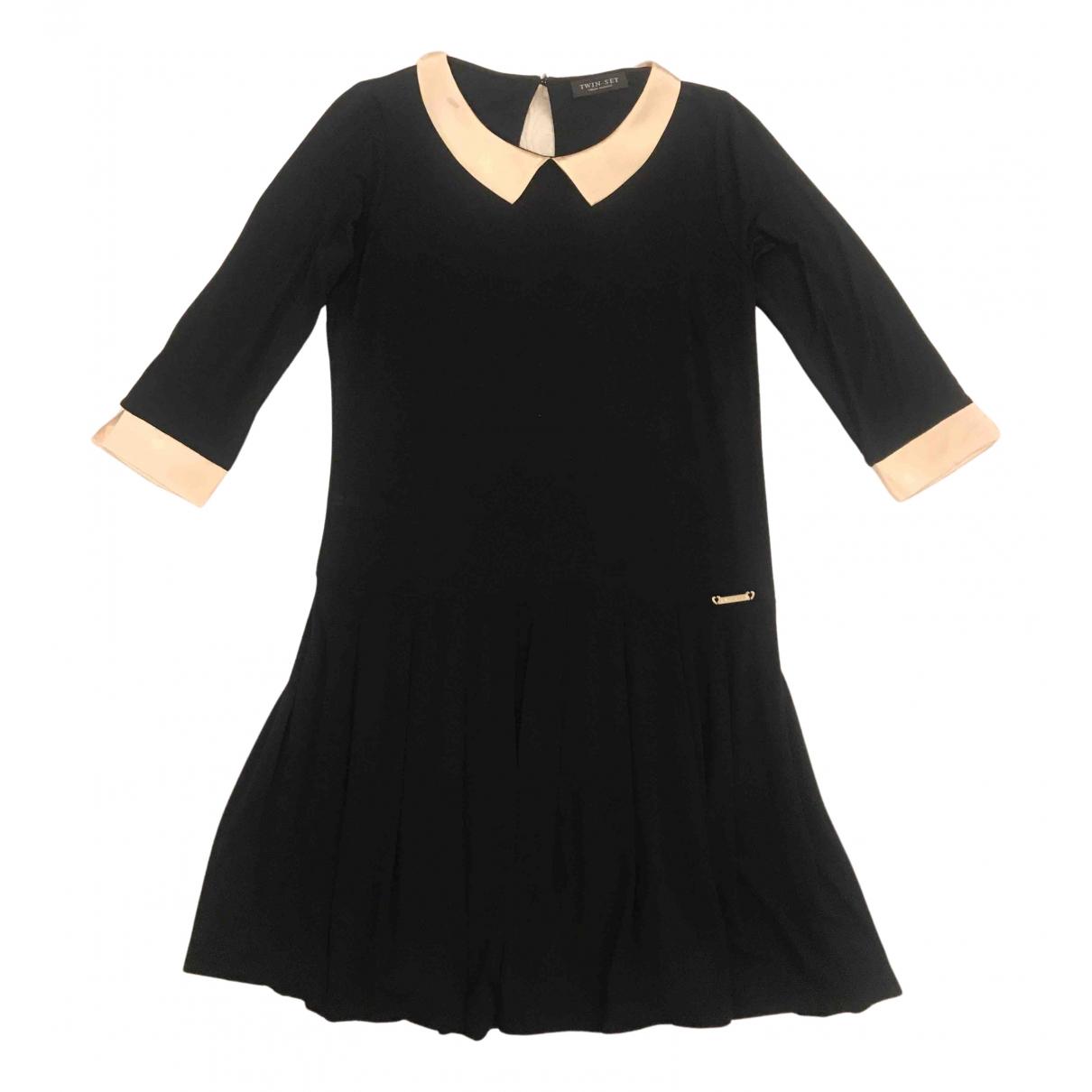 Twin Set N Black dress for Women 40 IT