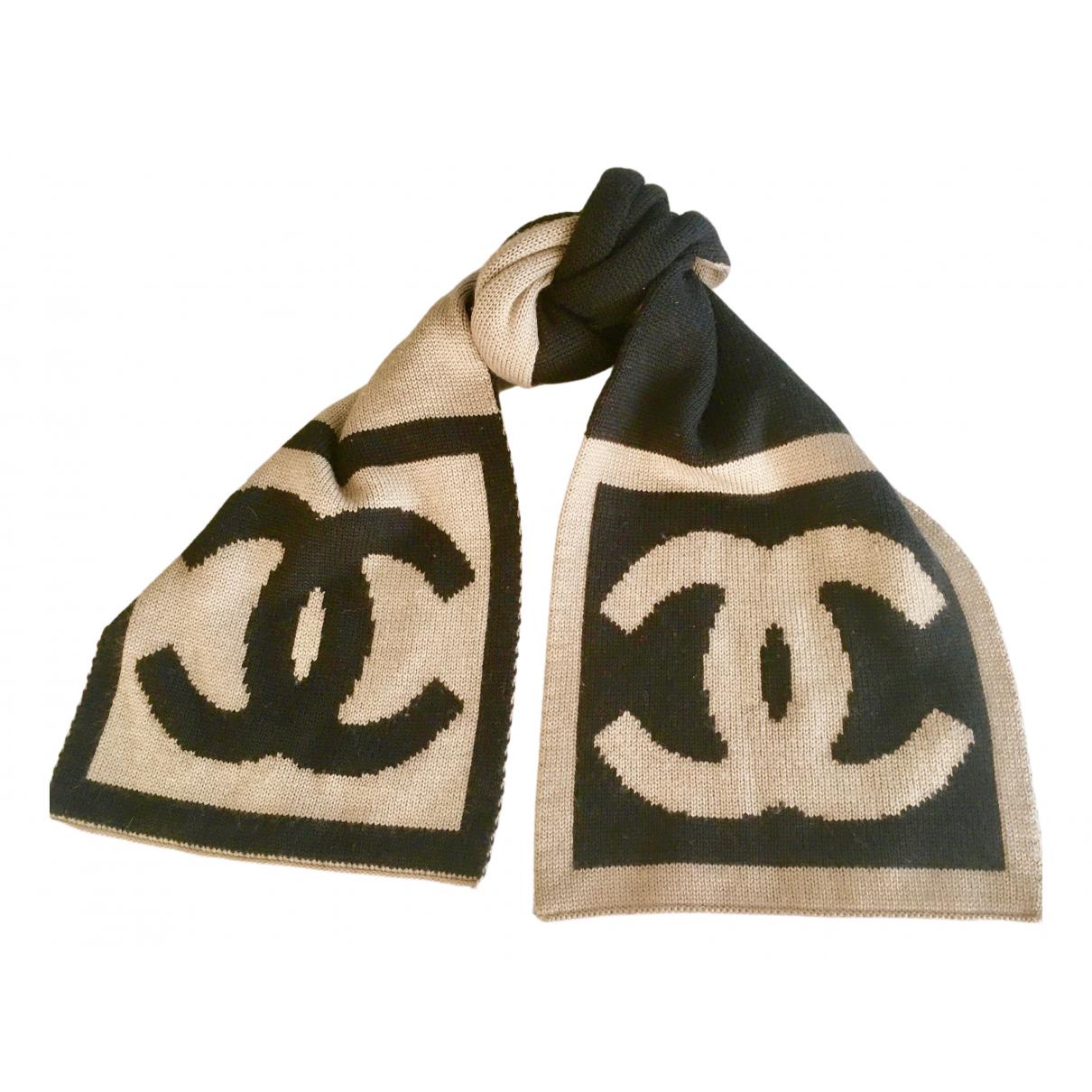 Chanel - Foulard   pour femme en laine