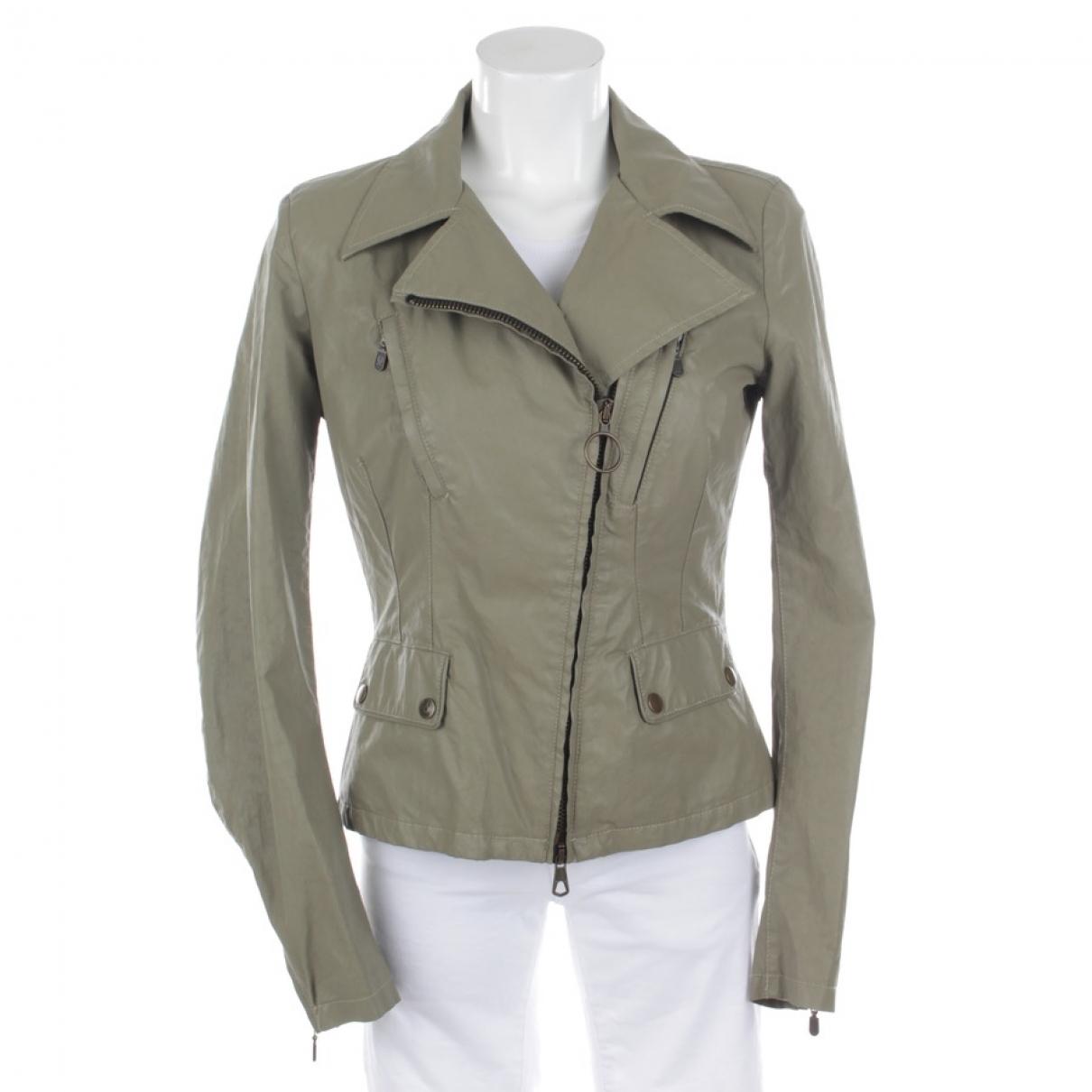 Belstaff \N Grey Cotton jacket for Women 36 FR