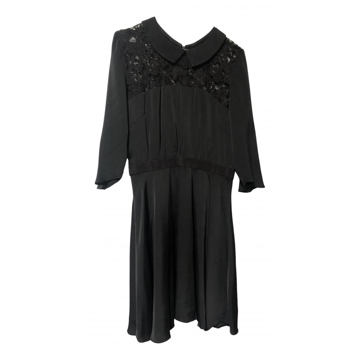 Vestido midi de Seda Milly