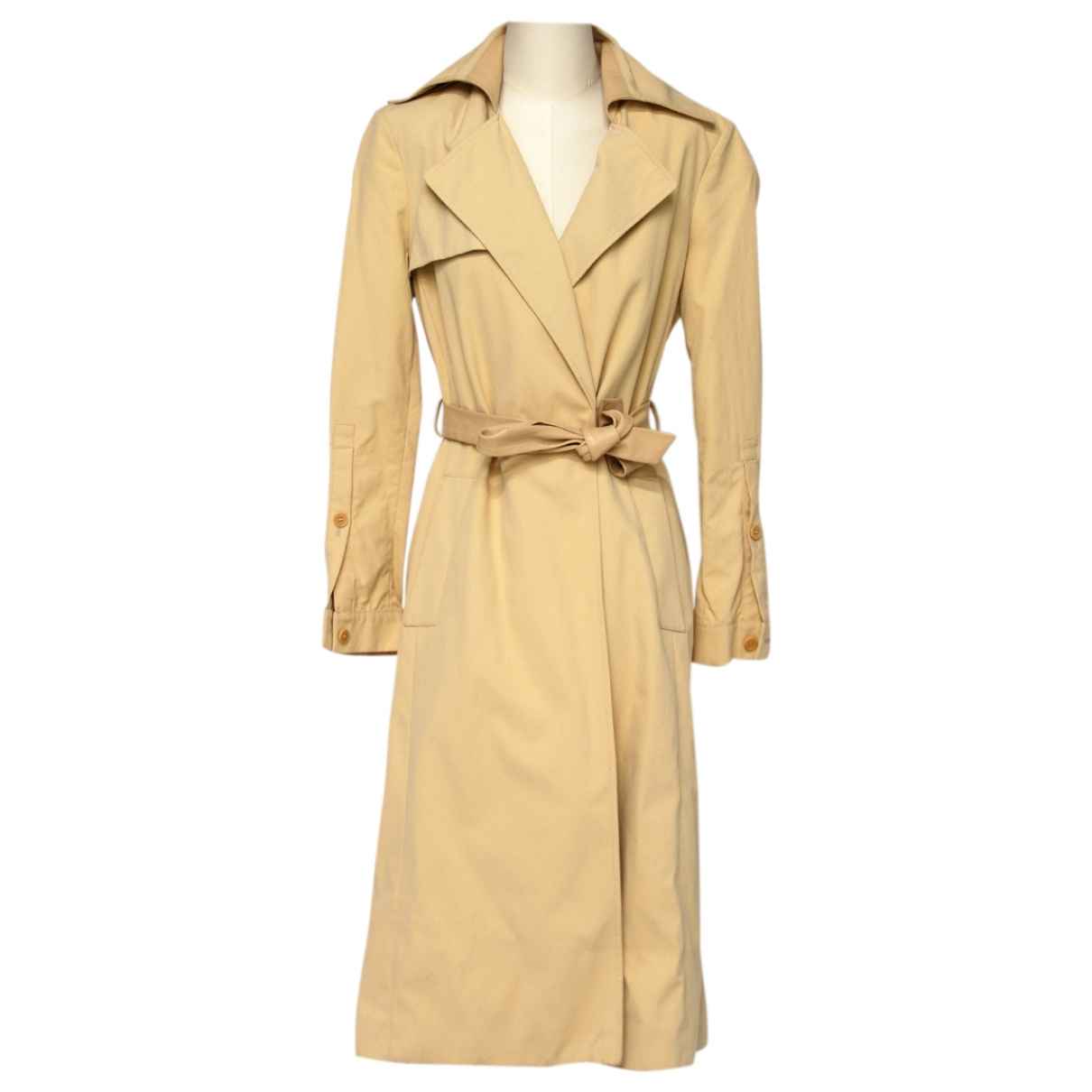 Patrizia Pepe \N Trench in  Beige Synthetik