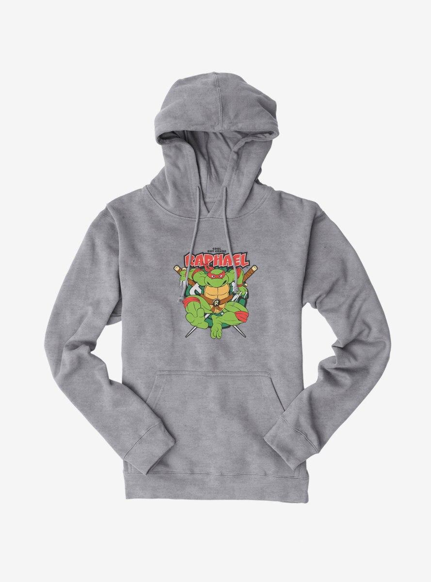 Teenage Mutant Ninja Turtles Raphael Cool But Crude Hoodie