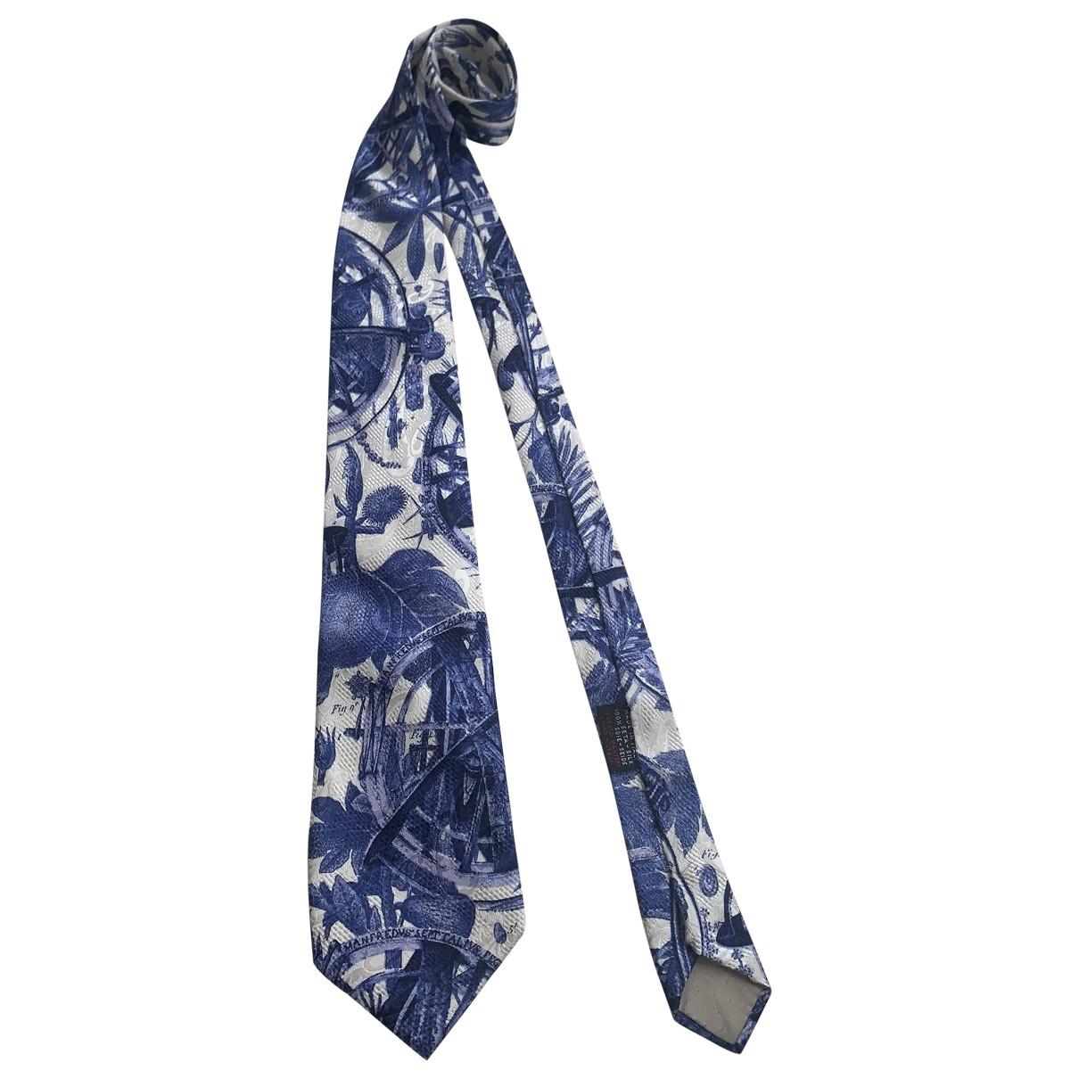 Gianfranco Ferré \N Blue Silk Ties for Men \N